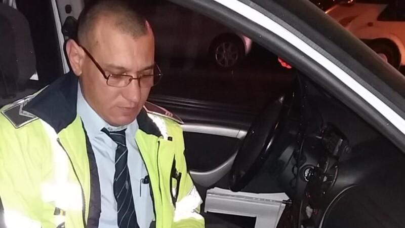 politist accidentat
