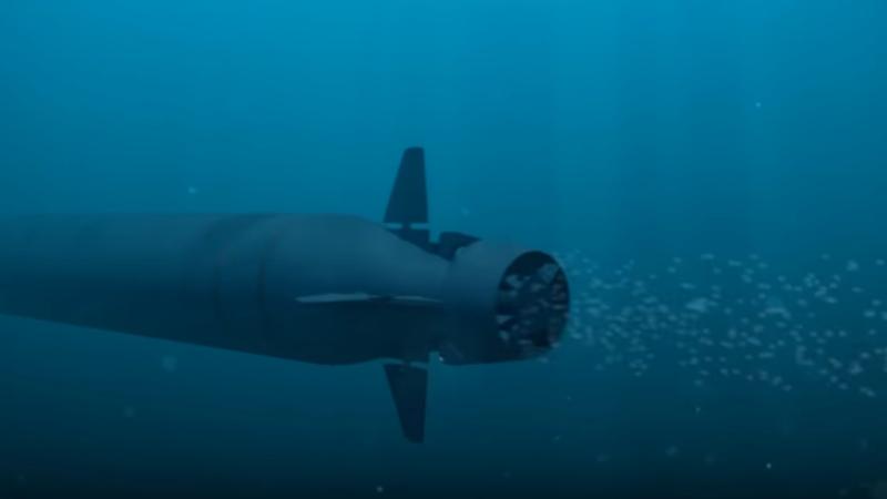 Drona subacvatica Rusia