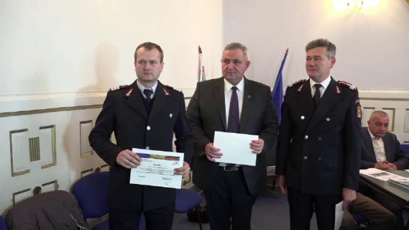 Pompieri premiati la Alba Iulia