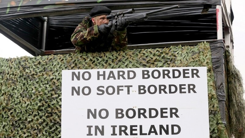 Frontiera Irlanda de Nord, Brexit - AFP/Getty