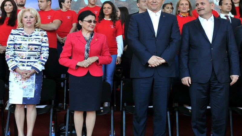 Ponta, Dancila, Dragnea, Andronescu