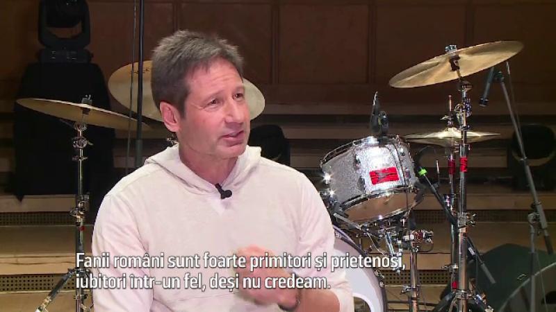 David Duchovny, interviu exclusiv. Ce spune