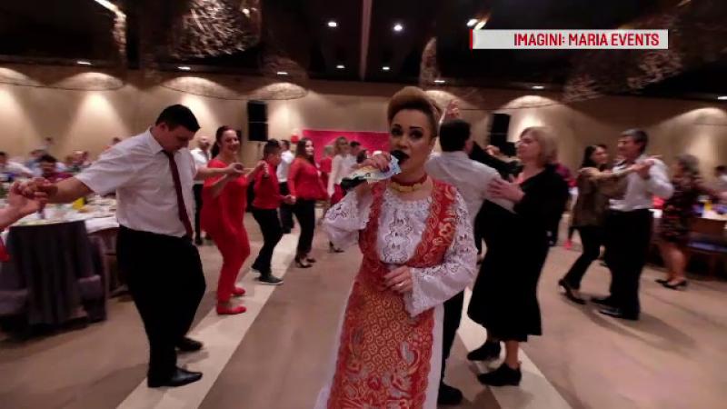 Valentine's Day sărbătorit cu muzică populară de românii din Spania