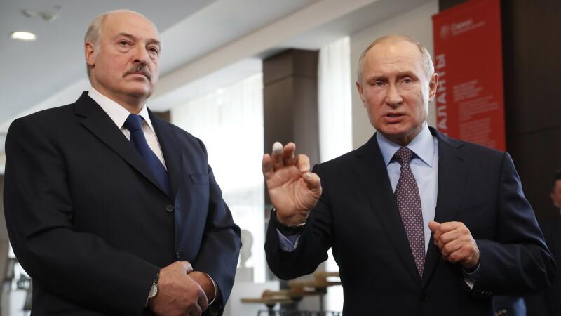 Aleksandr Lukaşenko, Vladimir Putin