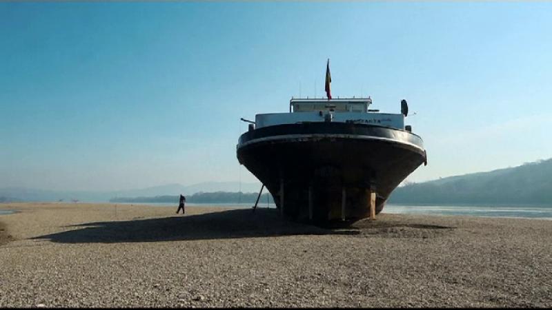 nava esuata, dunare