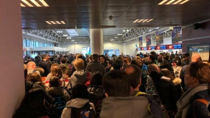 roma, incendiu, aeroport, Ciampino
