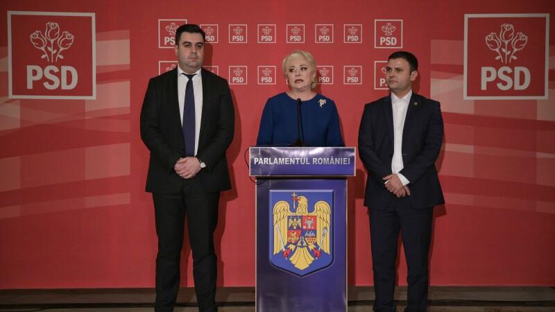Viorica Dancila anunta noii ministri