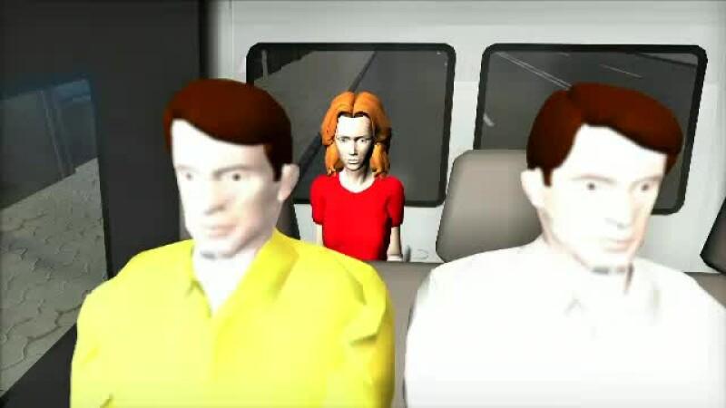 animatie microbuz