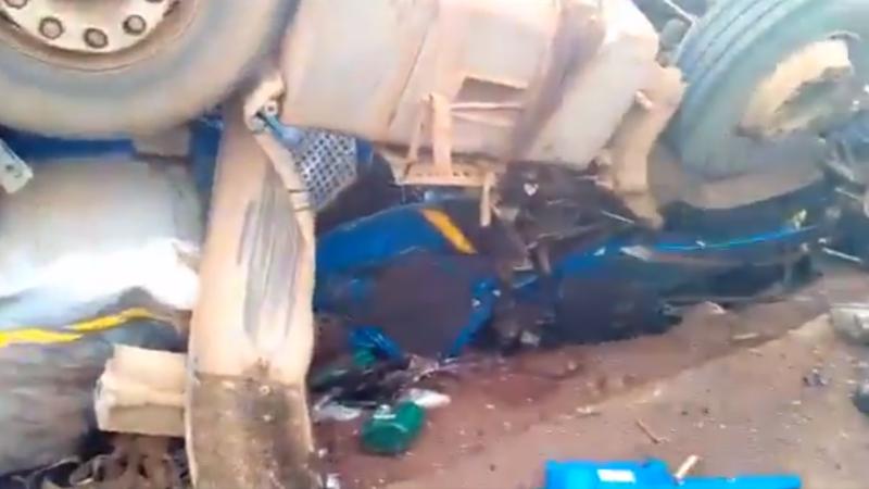 accident camion Congo