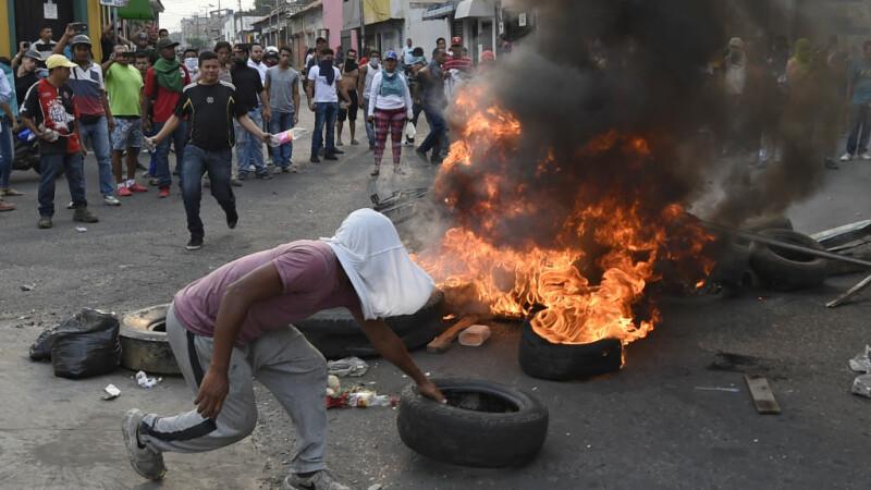 Violente in Venezuela