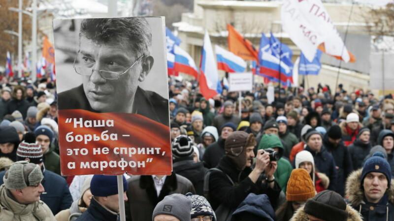 Mars in memoria lui Boris Nemtov