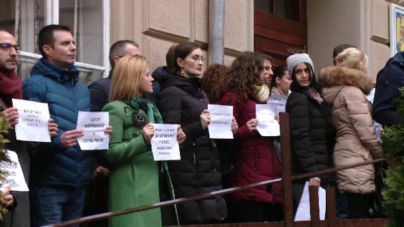 Protest judecatori
