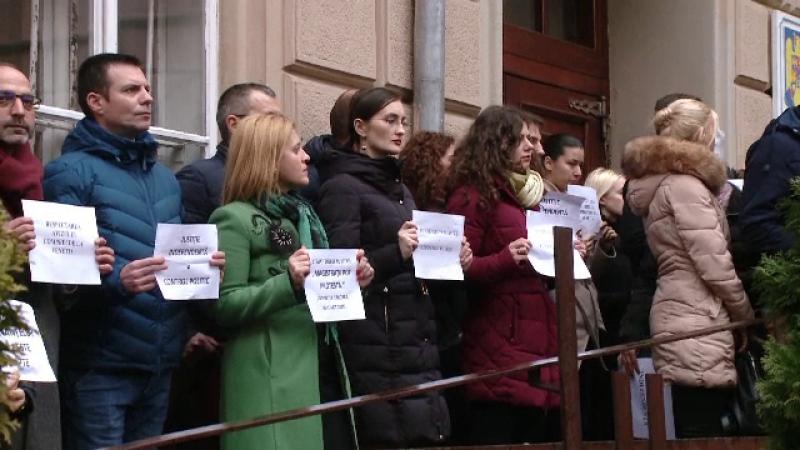 proteste justitie