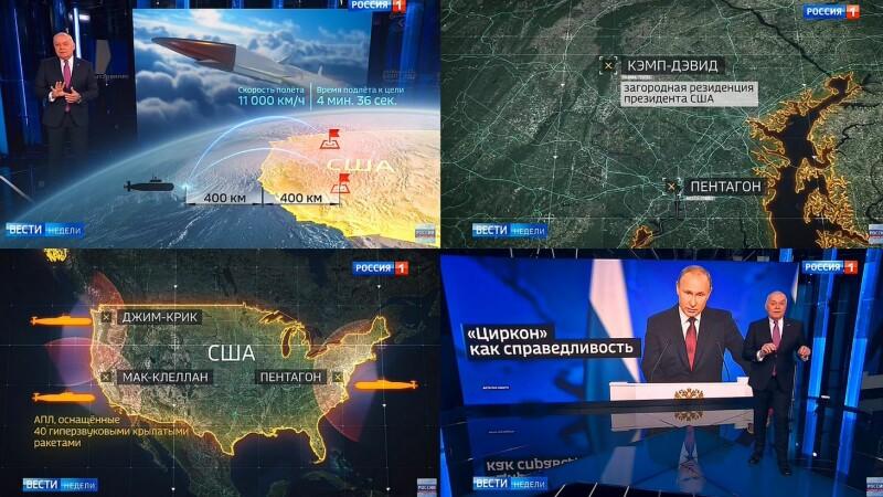Țintele americane, atacate de Rusia în 5 minute în cazul unui conflict nuclear