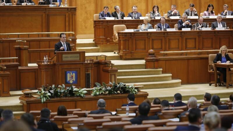 Ludovic Orban, discurs dezlănțuit în plenul Parlamentului - 1