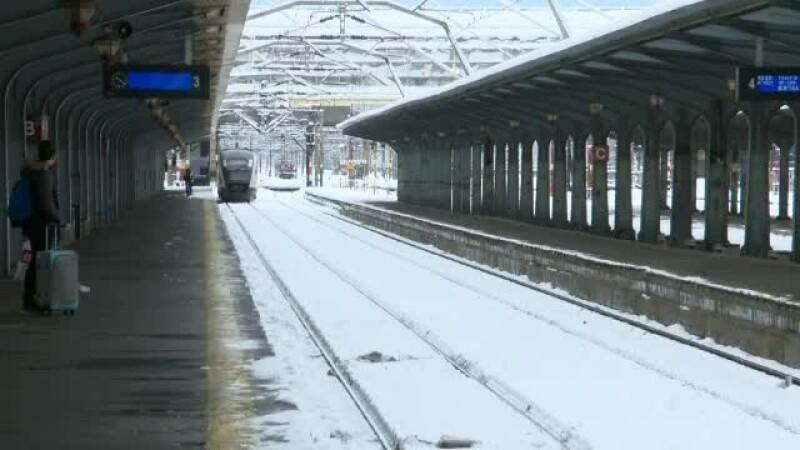 Cadavrul unui tânăr, găsit pe linia ferată. Circulația feroviară, oprită între Timișoara și Arad