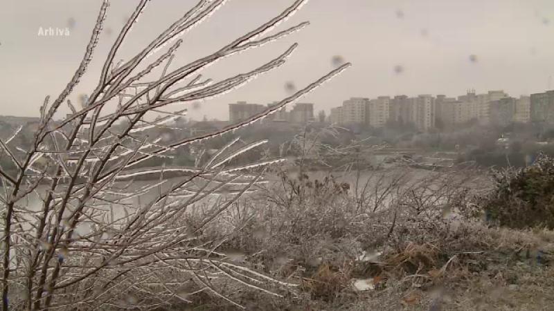 Un val de aer polar va lovi România. Temperaturile ajung la MINUS 20 de grade