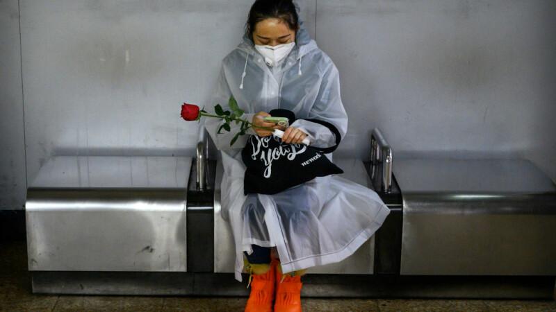 Valentine' s Day în China, în plină epidemie de coronavirus