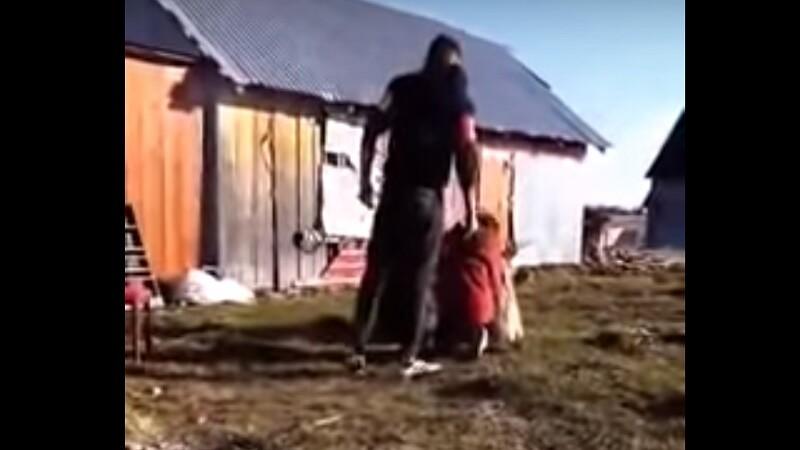 Dosar penal în cazul tinerei lovite cu biciul de iubit