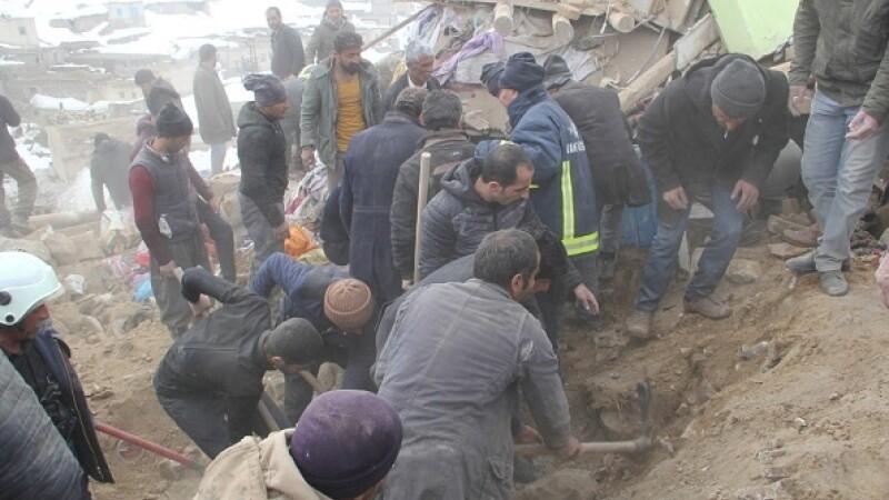 Cutremur Iran - Turcia - 1