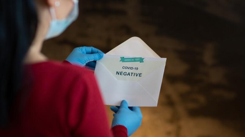Persoanele care trebuie să prezinte un test PCR negativ la intrarea în România