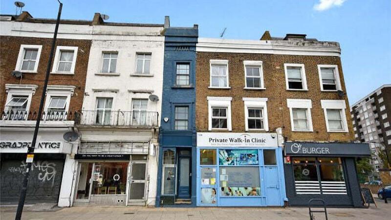 Cea mai îngustă casă din Londra, de 1,7 m lăţime, este de vânzare pentru 1 milion de euro