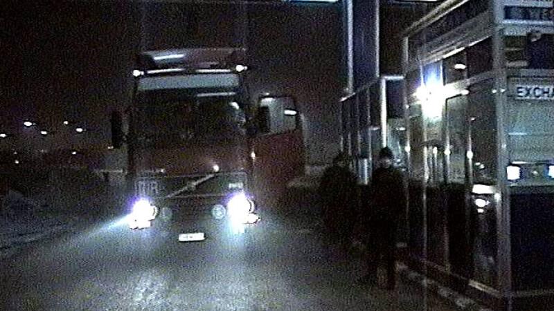 Trafic rutier blocat la Nadlac. A fost Pastele catolic!