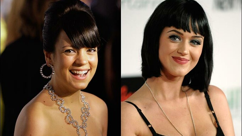 Lily Allen, Katy Perry