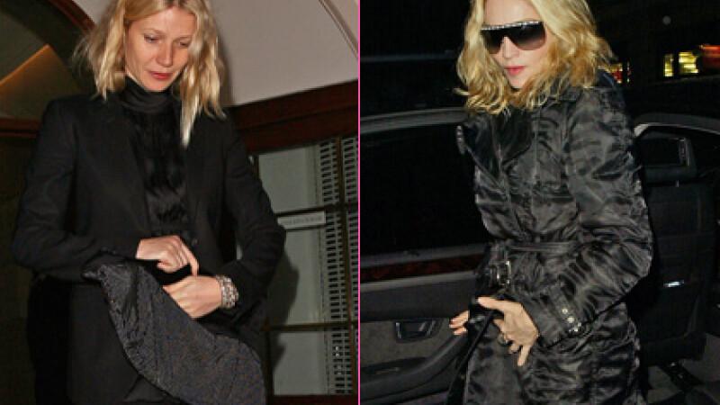 Madonna si Gwyneth Paltrow