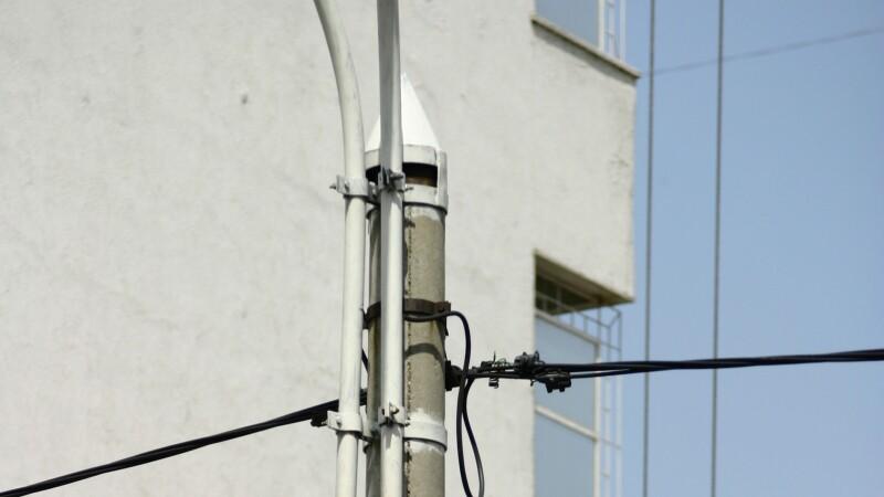 Circulatie oprita pe Soseaua Cotroceni din Capitala din cauza unui cablu