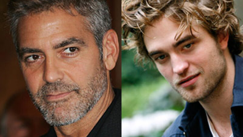 George Clooney, Robert Pattinson