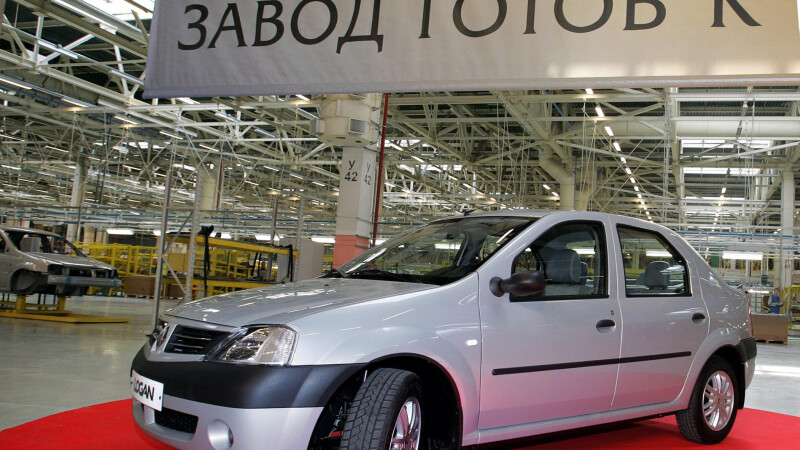 Renault Logan Rusia