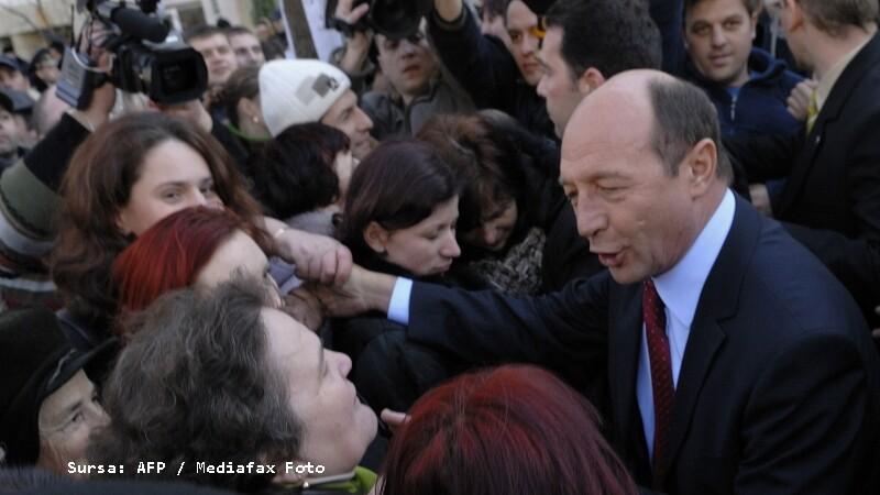 Traian Basescu in Moldova