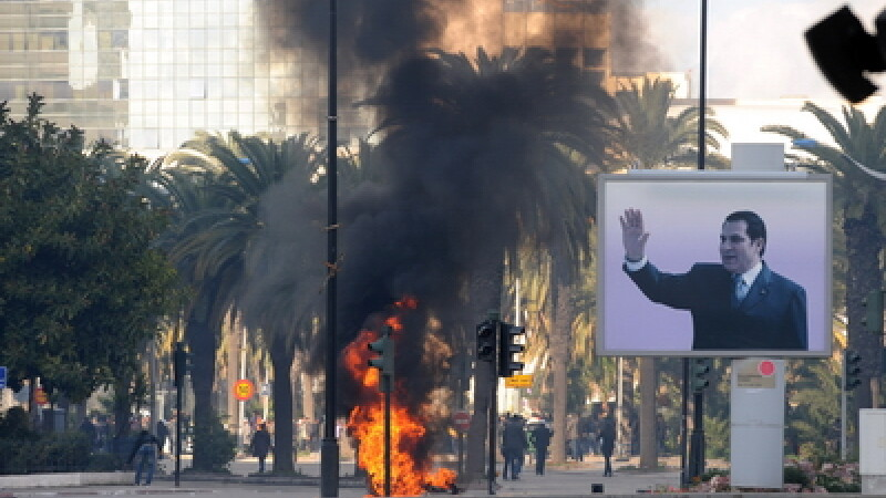 Proteste in Tunisia