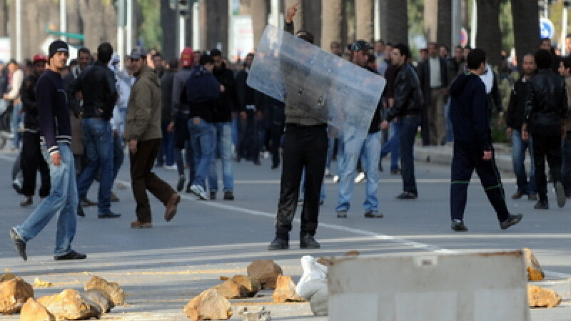 Proteste in Tunisia