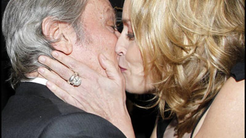 Sharon Stone, Alain Delon