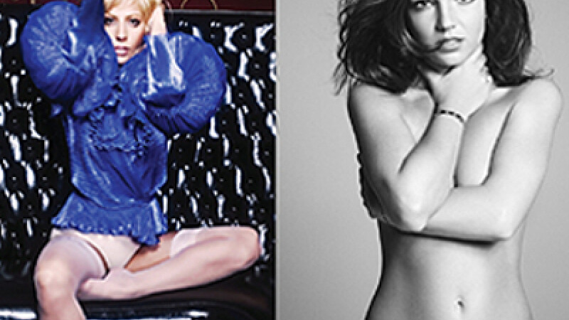 Britney Spears, Lady GaGa
