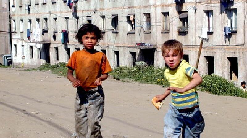 Copii saraci, cartier