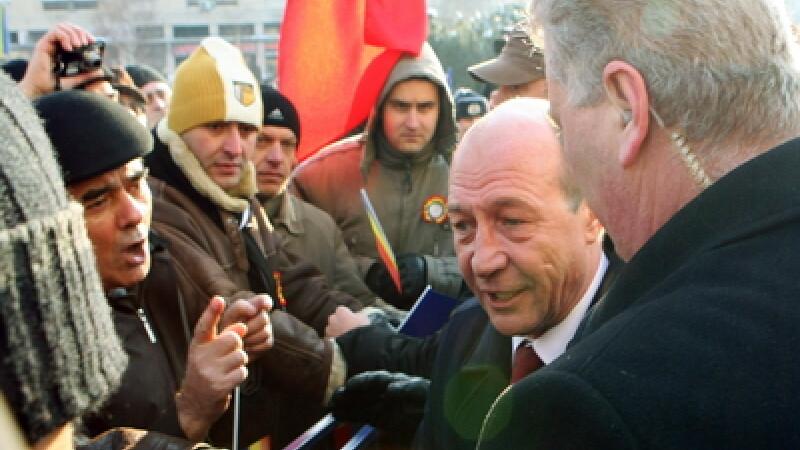 Traian Basescu la Iasi