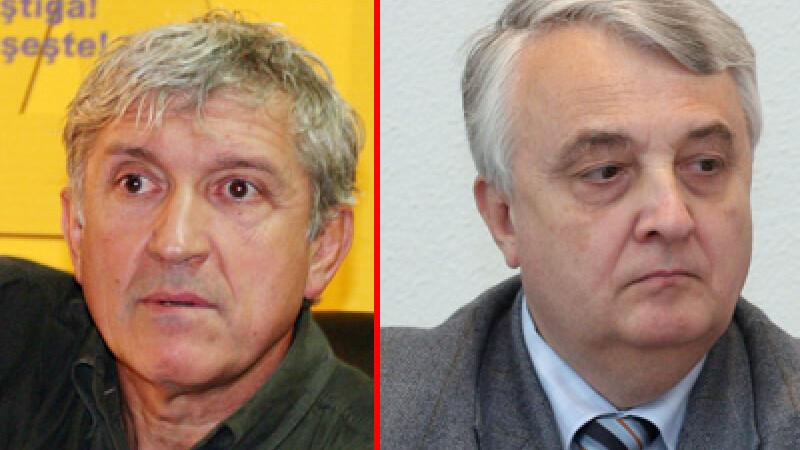 Mircea Diaconu si Mircea Cinteza