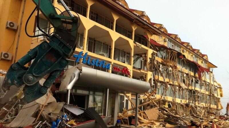 demolare hotel Mamaia