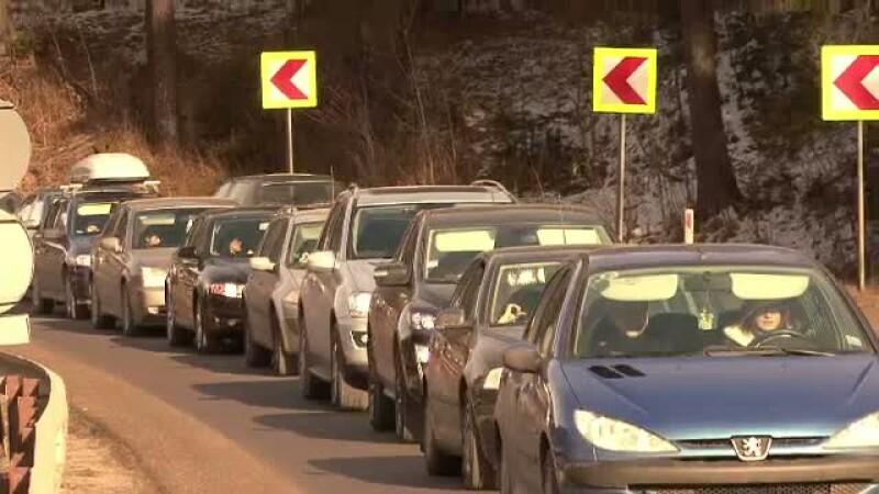 DN1, trafic aglomerat