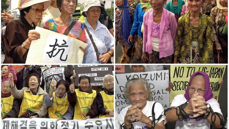 Victime ale exploatarii sexuale de catre soldatii japonezi in cel de-al 2-lea Razboi Mondial