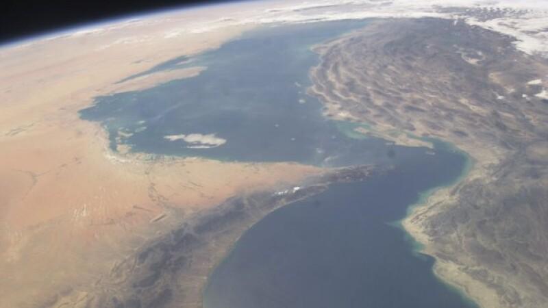 NASA stramtoarea Ormuz