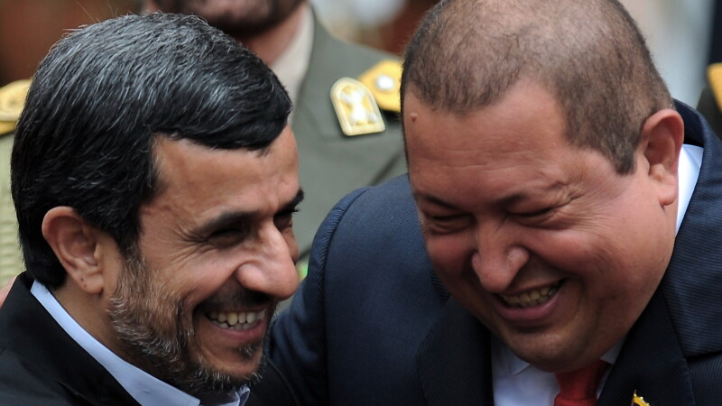 Hugo Chavez si Mahmoud Ahmadinejad