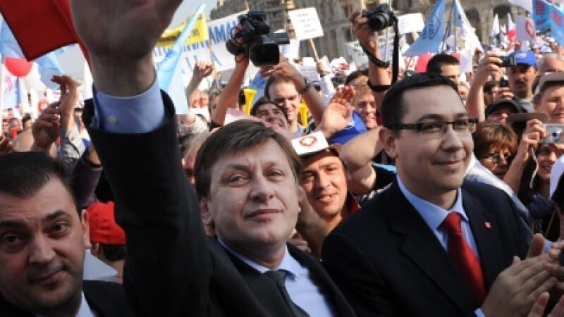 Ponta si Antonescu