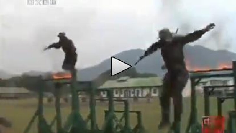 antrenamente soldati China