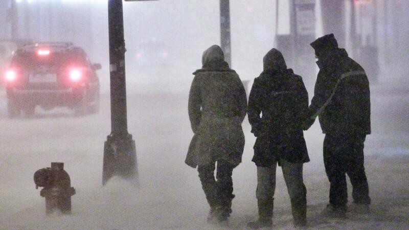 Cod rosu de ninsoare si viscol in Ungaria. Cand se va incalzi vremea in Romania