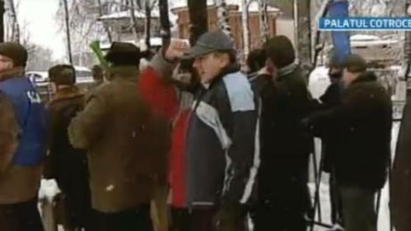 protest Palatul Cotroceni