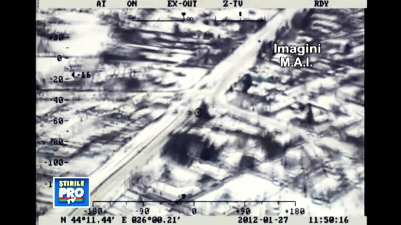 IMAGINI spectaculoase din elicopter. Vezi cum arata Romania, inecata in marea alba de zapada